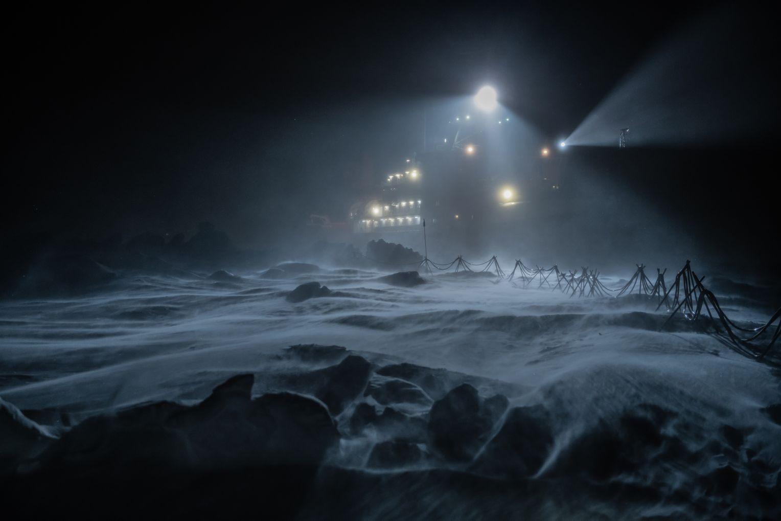 Schiff im Sturm: Das Wetter konnte sich rasend schnell ändern, alle Planung musste dann umgeworfen werden. Foto:Esther Horvath