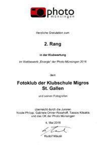Photo Münsingen - Auszeichnung