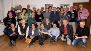 Fotoklub-Mitglieder an der HV 2012